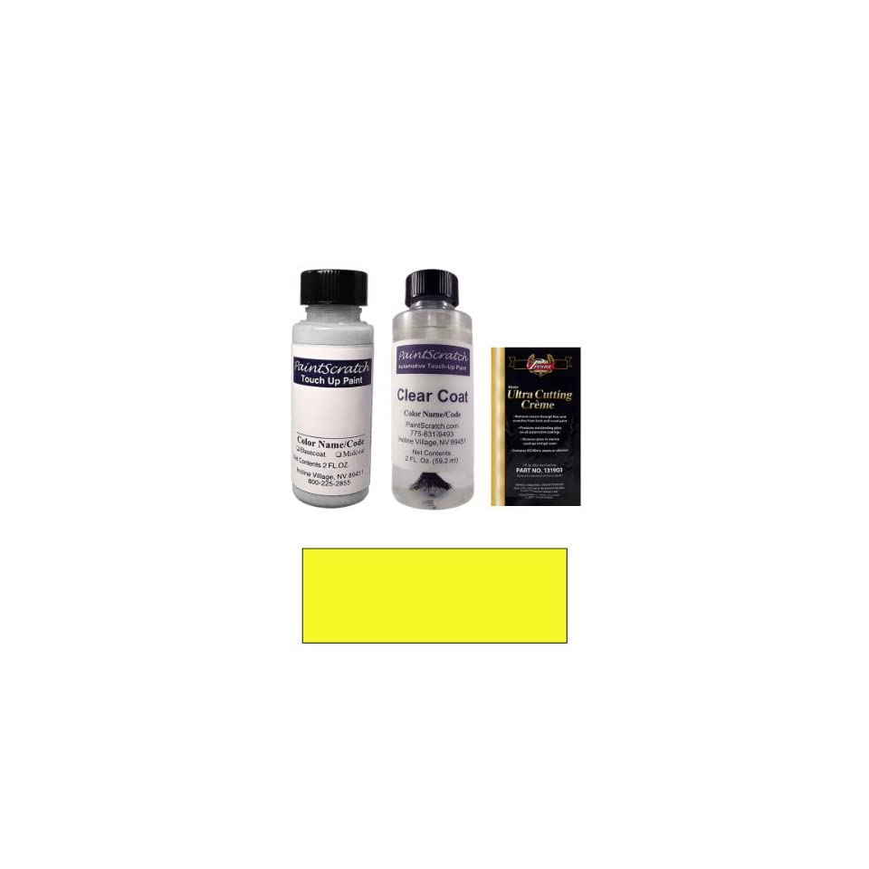 2 Oz. Screaming Yellow Paint Bottle Kit for 2007 Ford Super Duty Truck (D6)