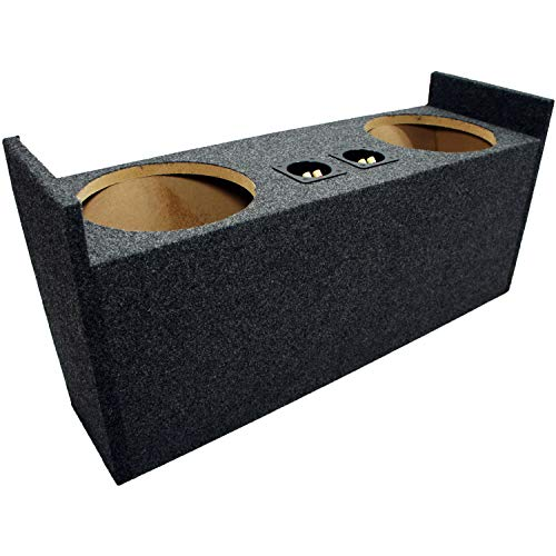 "Compatible with Jeep Wrangler YJ & TJ 1987-2006 Dual 10"" Subwoofer Speaker Box Enclosure"