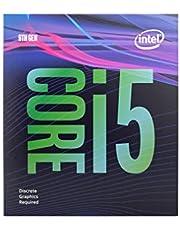 Intel® Core™ i5-9400F Desktop Processor 6 Cores 4.1 GHz Turbo Without Graphics