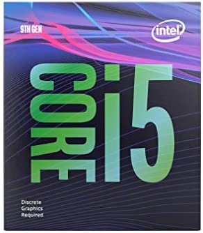 Intel Core i5-9400F Desktop Processor 6 Cores 4.1 GHz Turbo Without Graphics