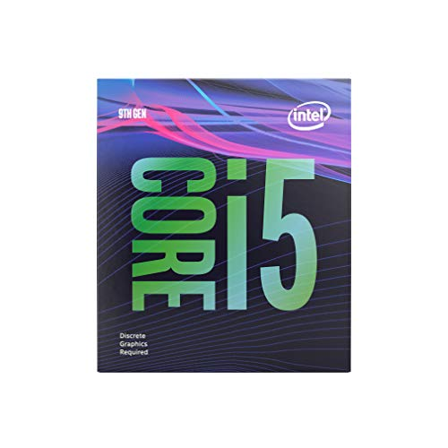 Intel Core i5-9400F Desktop Processor 6 Cores 4.1 GHz Turbo Without Graphics (Intel Motherboard Processor Combo)