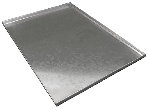 Ellie-Bo Replacement Metal Tray for Dog Cage Crate Medium 30-inch Silver by Ellie-Bo