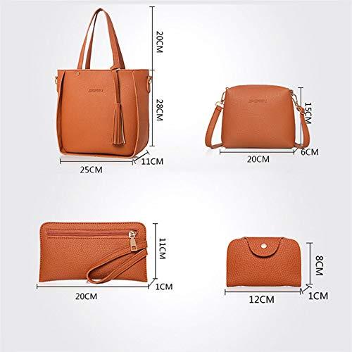 Bandoulière De Sacs Loisirs Simple à Main Sac à Mode Nouveau Sacs De De Mode Black Simple 4 z75c6qwBZ