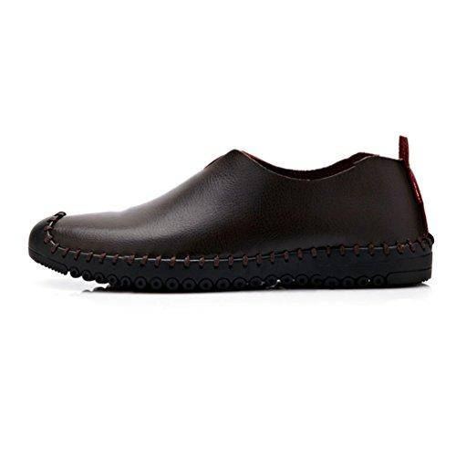 Sintético De Material Marrón Feidaeu Hombre Zapatos tq5ZCxwEnU