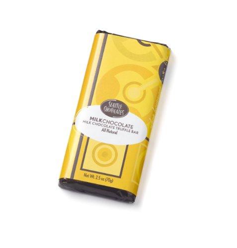 Seattle Chocolates, Milk Chocolate Bar, 2.5 oz ()
