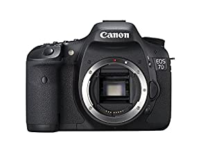Canon EOS 7D 18 MP CMOS Digital SLR Camera Body Only discontinued by manufacturer