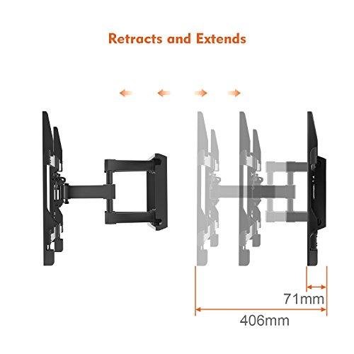 Perlegear TV Wall Bracket Max VESA 600x400 mm For 37-70 Inch LED LCD Plasma...