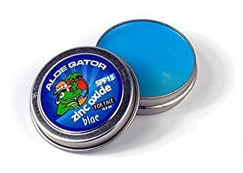Aloe Gator SPF 15 Zinc Oxide Water Resistant Suncare for Face (Blue)