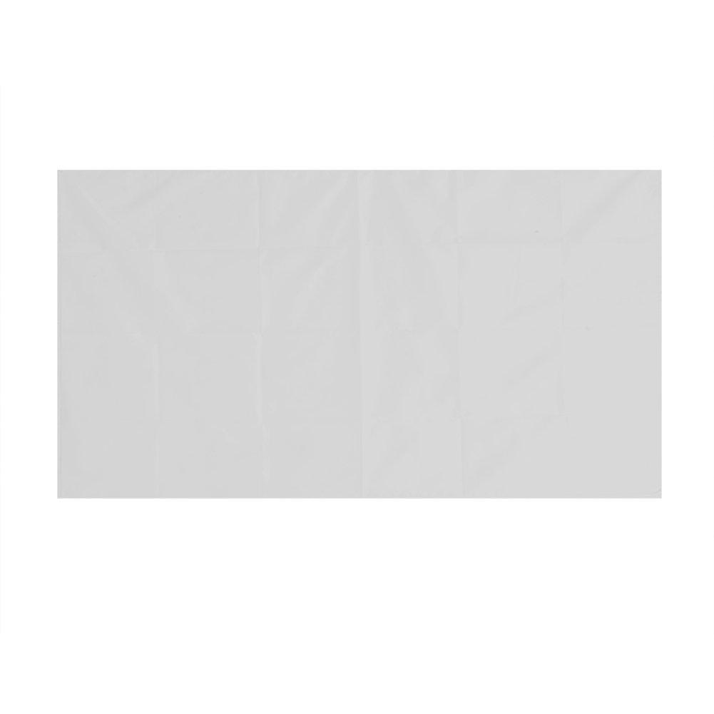 VBESTLIFE Pantalla HD de Proyecció n Portá til de Cortina de Proyector de Color Blanco Antideslizante de 60-120 Pulgadas 16: 9 para Cine en casa, Camping al Aire Libre(100inch)