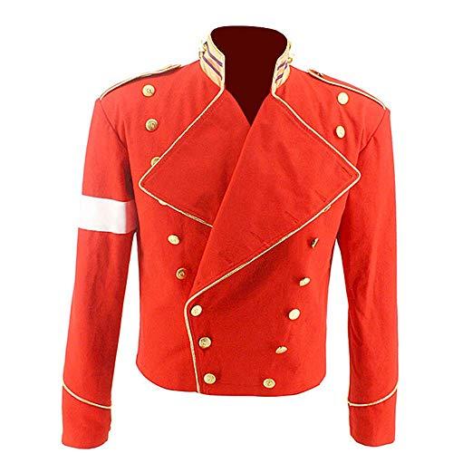 Michael Jackson Costume Jacket Military England Style Informal