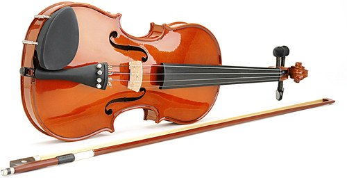 Spectrum AIL 201V Full Size Music Educator Approved Violin Pack with Case and (Spectrum Wood)