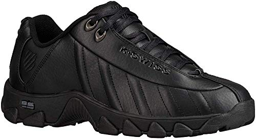 K-Swiss Men's ST329 CMF Training Shoe, Black, 7 M US