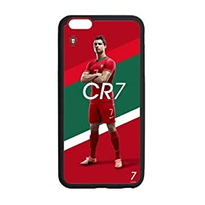 iPhone 6 Plus Case, [soccer] iPhone 6 Plus (5.5) Case Custom Durable Case Cover for iPhone6 TPU case(Laser Technology)