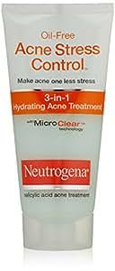 Neutrogena Oil Free Acne Stress Control 3-in-1 Hydrating Acne Treatment 2oz
