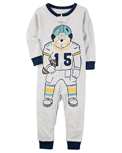 Carter's Baby Boys' 1-Piece Snug Fit Footless Cotton