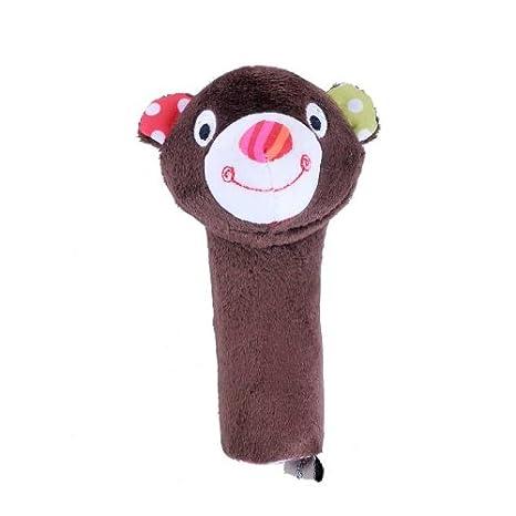 Hessie - Saco de dormir para bebé infantil de peluche marrón oso BB Stick marca nueva: Amazon.es: Bebé