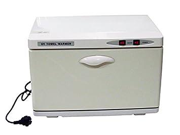 Calentador de Toallas Calienta y seca las toallas, ideal como accesorio de peluquería y estética. Con funcionamiento eléctrico de fácil manejo.