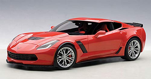AUTOart 71262 1/18 Composite Die-Cast: Chevrolet Corvette C7 Z06, Torch Red, Composi ()