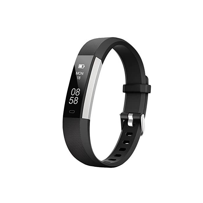 LETSCOM Fitness Tracker, Activity Tracker Watch with Sleep Monitor, Step  Counter, Calorie Counter, Waterproof Slim Pedometer Watch for Kids Women  and