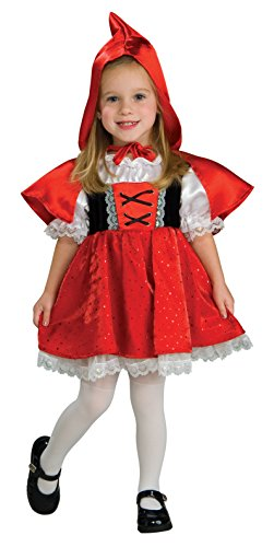 Red Riding Hood Baby Costumes (Rubie's Costume Co. Baby Girls' Red Riding Hood Costume, As Shown, Toddler)
