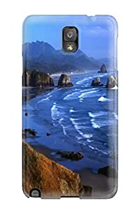 Galaxy Cover Case - Coastline Protective Case Compatibel With Galaxy Note 3