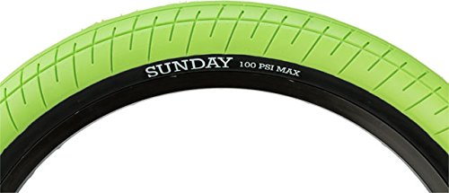 - ODYSSEY Sunday Street Sweeper Tire 20x2.4'' Green/Black