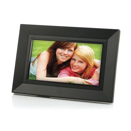 Amazon.com : Gear Head 7-Inch Digital Photo Frame w/Remote (Piano Black) : Digital Picture Frames : Camera & Photo