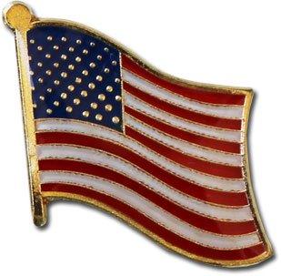 National Lapel Pin USA