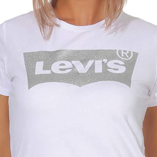 holiday Donna T Tee The Tee Perfect 0484 shirt Bianco White Levi's XTw01qx