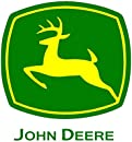 John Deere Logo CreativeStickers0416 Set Of Two (2x) Stickers , Laptop , Ipad , Car , Truck , Size 4 inches on Longer Side