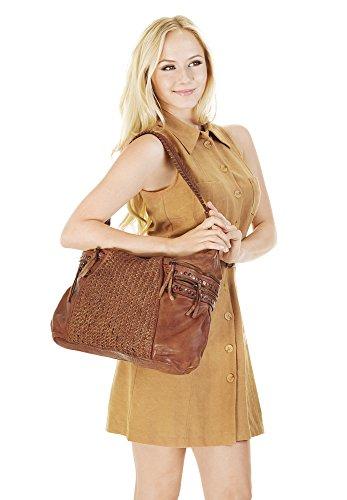 Echt Sac Shopping Forty° Leder Femme Rft6Zqwq