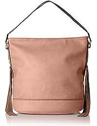 Janna Tassel Slouchy Shopper Hobo Shoulder Bag