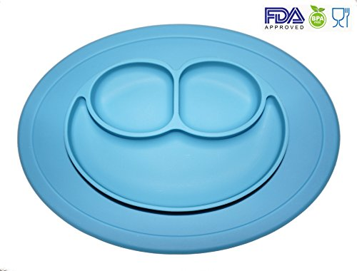 Silicone Placemat Smiley Children Toddlers product image