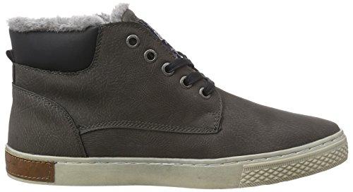 TOM TAILOR Herren Hohe Sneakers Grau (Coal)