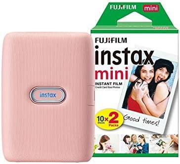 Fujifilm Instax Mini Link Drucker Bundle Mit 20 Kamera