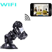 Mini Spy Camera Wifi Wireless IP P2P Hidden Spy Camera with Infrared Night Vision Wireless Video Camera Recorder.