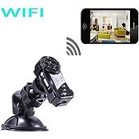 Mini Spy Camera Wifi Wireless IP P2P Hidden Spy Camera with Infrared Night Vision Wireless Video Camera Recorder.