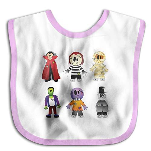 Halloween Costume New York's Village Halloween Parade Clip Art - Halloween Transparent Creepy Collection Cotton Baby Bibs Infant Toddler Soft Drool Bib for Feeding -