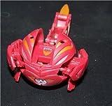 Bakugan Battle Brawlers B2 Bakupearl Series: Red Limulus 510G LOOSE