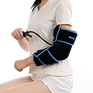 57230171e8 Cold Therapy Elbow Wrap With Compression and Extra Ice Gel Pack - Essential  Kit For Tennis