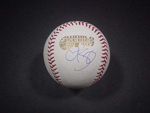 Curt Schilling Autographed Ball - 2007 World Series RedSox - Steiner Sports Certified - Autographed Baseballs ()