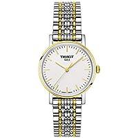 Tissot Women's Quartz Stainless Steel Watch, Color:Two Tone (Model: T1092102203100)