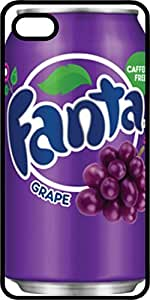 Fanta Grape Soda Can Tinted Rubber Case for Apple iPhone 4 or iPhone 4s