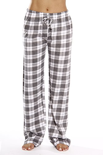 Just Love Women Pajama Pants Sleepwear 6324-GRY-10018-XS (Flannel Pj Pants For Juniors)