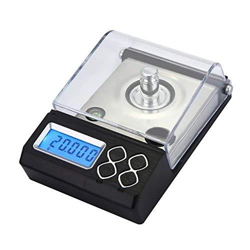 Desktop Postal Scale - Sala-Fnt - 0.001g Precision Portable Electronic Jewelry Scales 20g/30g/50g Diamond Gold Germ Medicinal Pocket Digital Scale Weight Balance