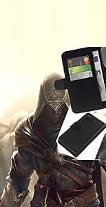 // PHONE CASE GIFT // Moda Estuche Funda de Cuero Billetera Tarjeta de crédito dinero bolsa Cubierta de proteccion Caso Sony Xperia Z3 D6603 / Assassin Glow /