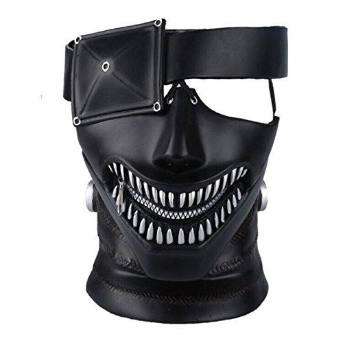 - Yacn Anime Tokyo Ghoul Mask, Kaneki Ken Mask,3D Mask Japan Cosplay Mask