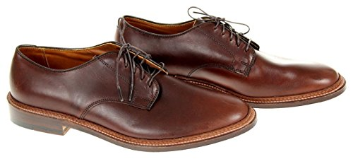 J Crew Alden Bluchers Brown Size 7 Style F6194 Def made in New England
