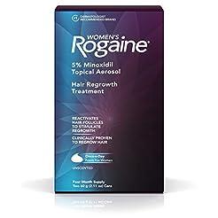 Women's Rogaine 5% Minoxidil Foam for Ha...