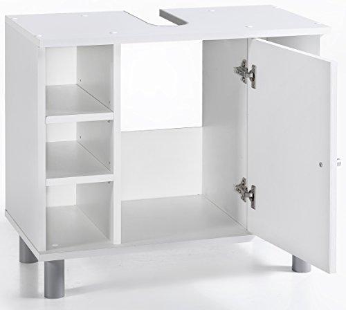 Attrayant Badezimmer Waschbeckenunterschrank Weiss BV VERTRIEB Waschtisch Unterschrank  Weiss   (2863): Amazon.de: Küche U0026 Haushalt